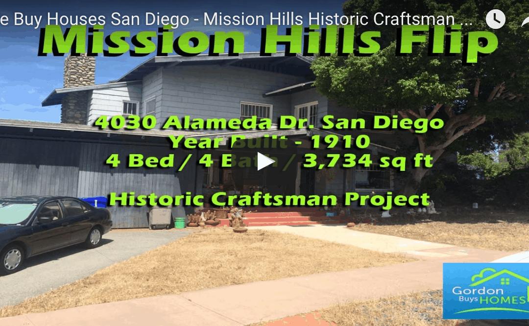 Historic Mission Hills Craftsman Project