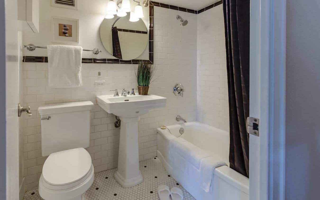nice small bathroom